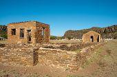 Fort Davis National Historic Site ruins poster