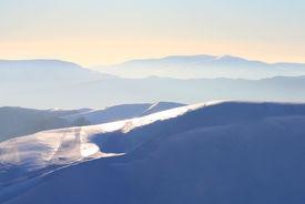 Mountains In Haze