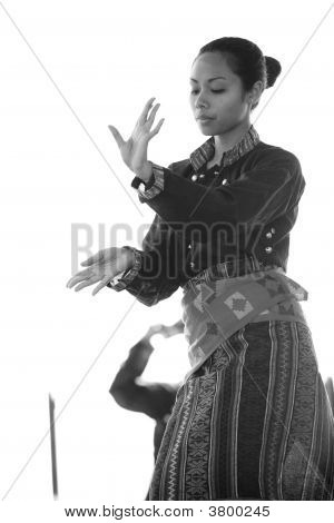 Kulintang Ensemble Dancer