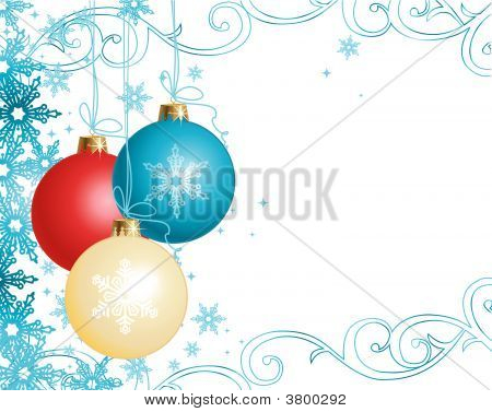 Christmas Ornaments / Vector