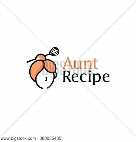 Cooking Logo Simple Menu Organic Eating Kitchen Homemade Culinary Vector Design Element