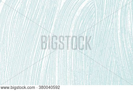 Grunge Texture. Distress Blue Rough Trace. Classy Background. Noise Dirty Grunge Texture. Perfect Ar