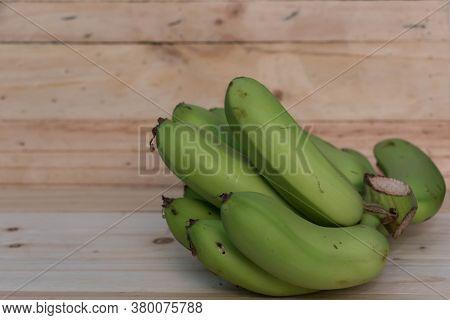 Green Banana  Isolated Bananas Sweet Ripe Ripe