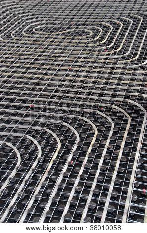 Black Underfloor Heating