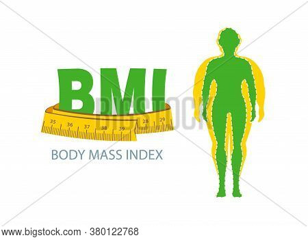 Bmi. Body Mass Index. Weight Loss Concept. Obesity.