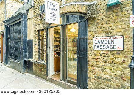 June 2020. London. Camden Passage, Angel London England Uk Europe