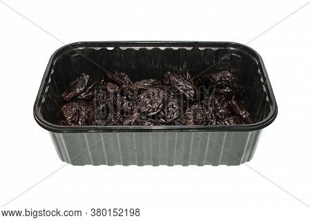 Prune.background Of Prunes.dried Black Plum.the Dried Fruit Of The Plum.