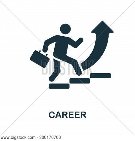 Career Icon. Simple Element From Business Recruitment Collection. Creative Career Icon For Web Desig