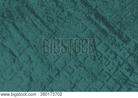 Abstract Dark Aquamarine Color Background For Design.