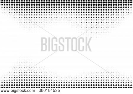 Halftone Illustrator. Halftone Dots. Halftone Effect. Vector Halftone Dots. Dots On Background. Vect