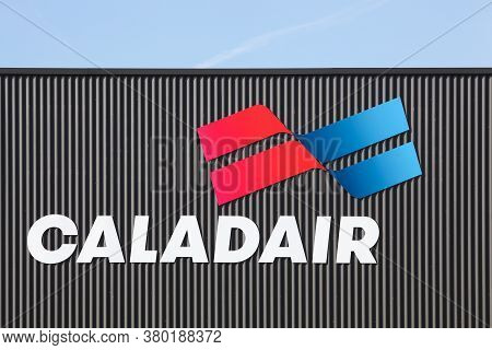 Macon, France - March 15, 2020: Caladair Operates In The Field Of Climate Engineering As A Manufactu