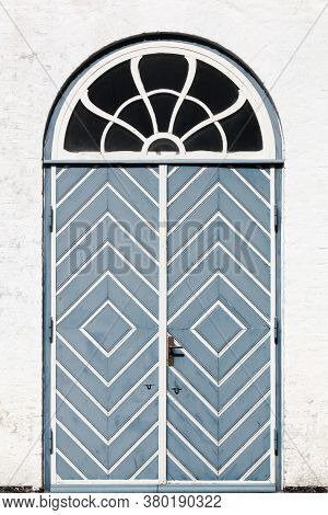 Door In The Village Of Aeroskobing, Aero Island, Denmark