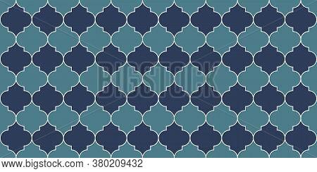 Moroccan Seamless Mosaic Pattern. Moroccan Seamless Texture Ramadan Kareem Muslim Illustration. Rama