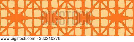 Japanese Tie Dye Seamless Pattern. Bohemian Geometric Asian Tie Dye Texture. Bohemian Kimono Fabric.