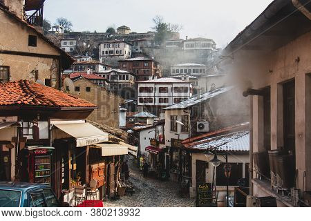 29 January 2020 Safranbolu / Turkey Traditional Ottoman Houses In Safranbolu, Turkey. Safranbolu Is