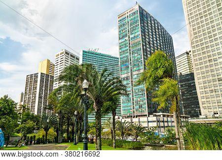Architecture Of Downtown Rio De Janeiro - Brazil