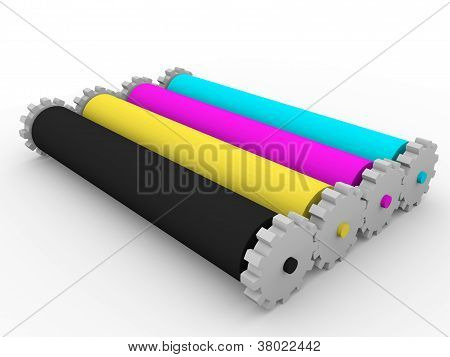 Rollers Cmyk