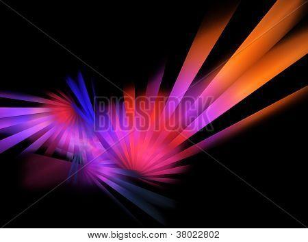 Neon Disco Rays
