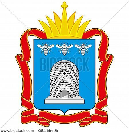 Coat Of Arms Of Tambov Oblast Of Russia