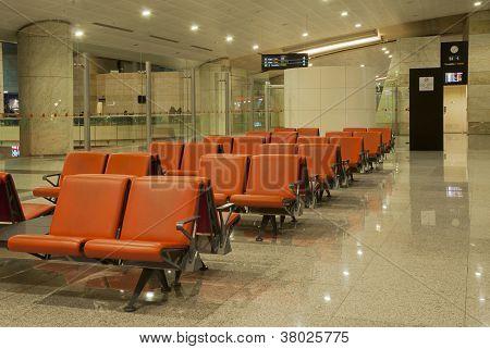 Flughafen-lounge