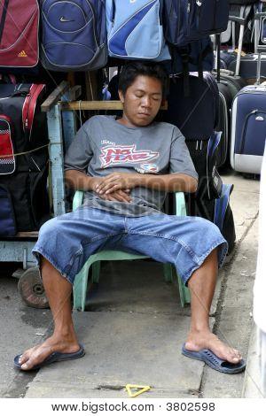Philippine Market Scene