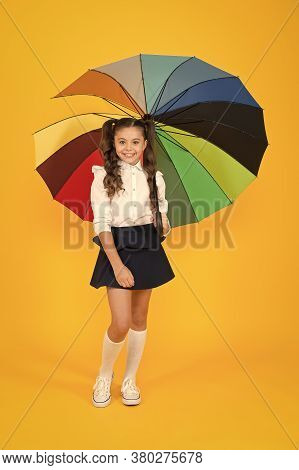 Girl With Umbrella. Rainy Day Walks. Happy Childhood. School Time. Rainbow Style. Colorful Life. Sch