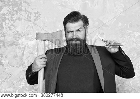Brutal Methods. Old Weapon. Vintage Barbershop. Real Blade. Barbershop Hairstyle. Brutal Barber. Dar