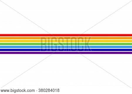 Flag Of Jewish Autonomous Oblast In Russian Federation