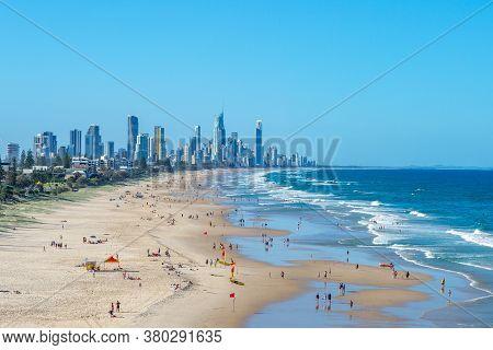Scenery Of Surfing Paradise, Gold Coast, Brisbane