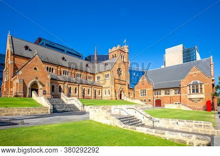 St Georges Cathedral In Perth, Western Australia