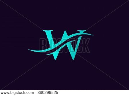 W Logo For Business And Company Identity. Creative Letter W Logo Vector Template.