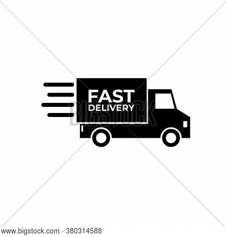 Truck Icon Vector. Delivery Truck Icon On White Background. Truck Icon Simple And Modern. Delivery T