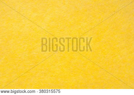 Texture Background Of Yellow Velvet Or Flannel