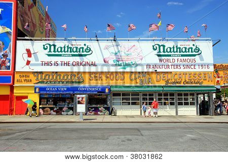Nathan's New York Hot Dogs