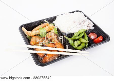 Photo of Japanese Bento Lunch