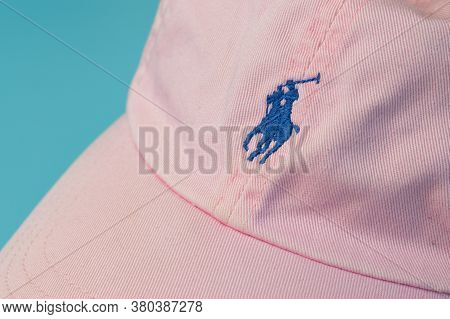 Moscow, Russia - 1 June 2020: Polo Ralph Lauren Logo Close Up, Illustrative Editorial