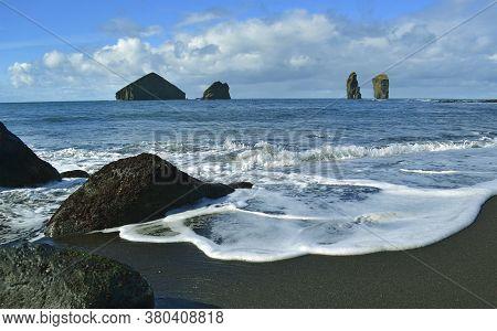West Coast Near Mosteiros, Sao Miguel Island, Azores