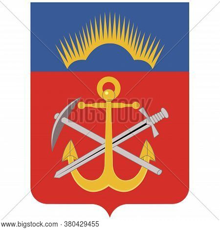 Coat Of Arms Of Murmansk Oblast In Russian Federation
