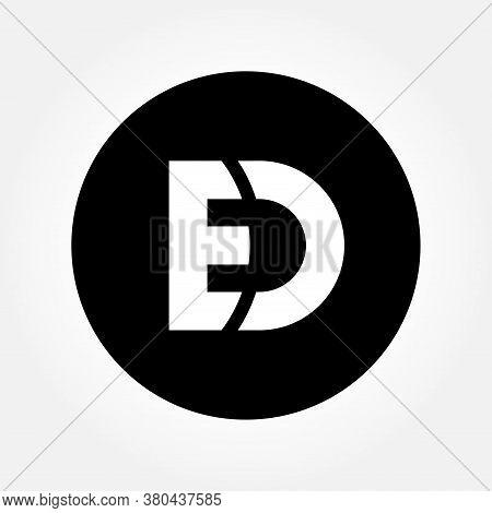 Ed Letter Logo Design Vector For Multiple Use