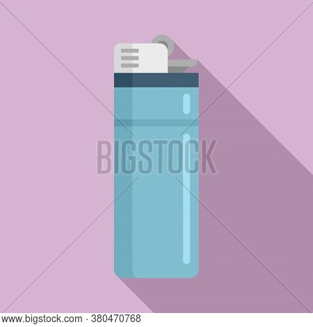 Survival Lighter Icon. Flat Illustration Of Survival Lighter Vector Icon For Web Design