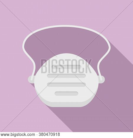 Survival Face Mask Icon. Flat Illustration Of Survival Face Mask Vector Icon For Web Design