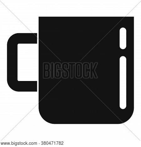 Survival Steel Mug Icon. Simple Illustration Of Survival Steel Mug Vector Icon For Web Design Isolat