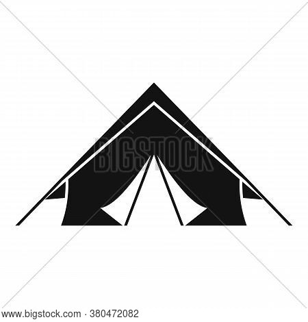 Survival Tent Icon. Simple Illustration Of Survival Tent Vector Icon For Web Design Isolated On Whit