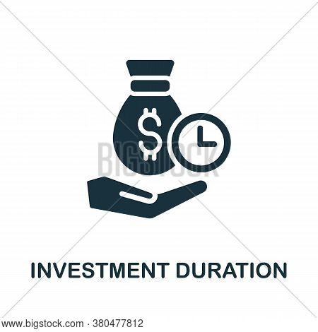 Investment Duration Icon. Simple Element From Investment Collection. Creative Investment Duration Ic