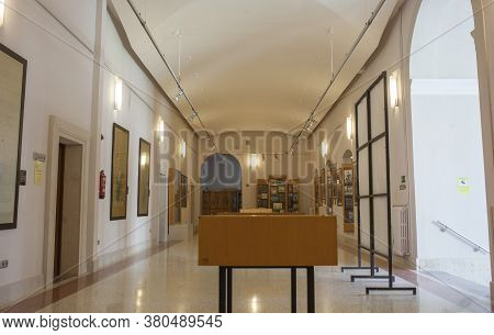Valladolid, Spain - July 18th, 2020: Oriental Museum At Royal College Of The Augustinian Fathers Of