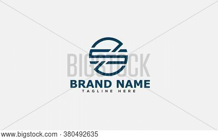 Zs Logo Design Template Vector Graphic Branding Element.