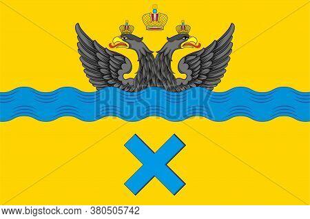 Flag Of Orenburg City In Russia