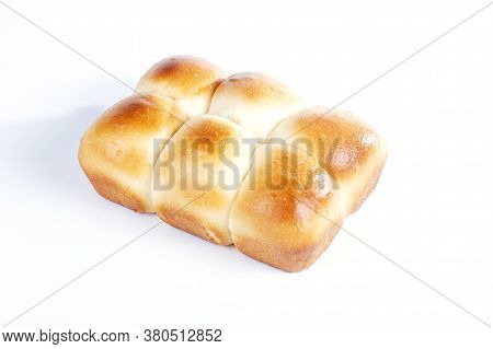 Bread Isolated On The White Back Ground