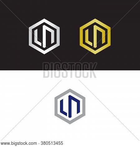 Letter L And Letter N Logo Design, Ln Logo