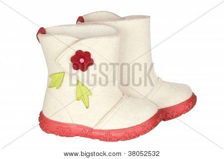 Children's Felt Boots